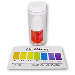 Equipo líquido de prueba de pH